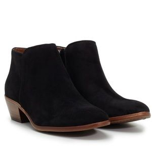 Sam Edelman petty black ankle booties 7.5